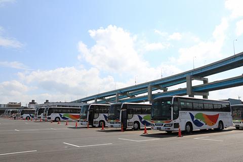 西鉄高速バス・西鉄観光バス 本社 観光車駐車場