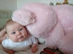6 месяцев и 22 дня. Медведь! - я тебя держуууу, не падай! :)