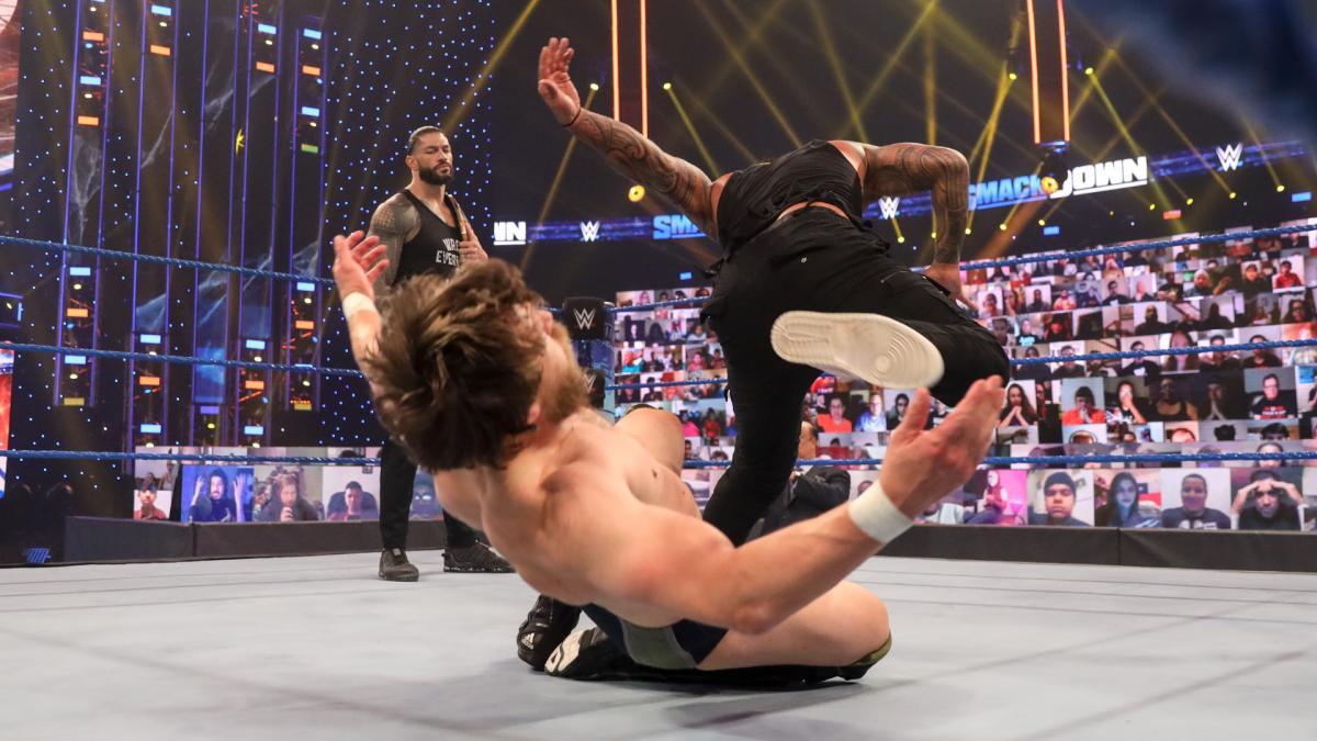 Daniel Bryan and Jey Uso on WWE SmackDown Live