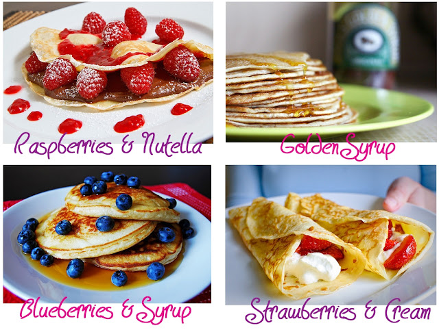 Pancake Day flavour ideas