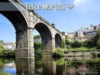 buon martedi immagine con frase aforismo ponte fiume.jpg