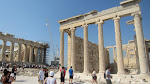 The Erechtheum, another ancient Greek temple.