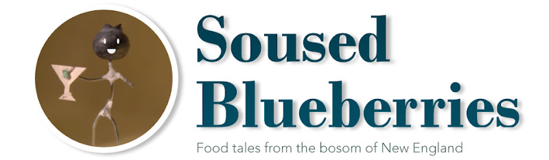 Soused Blueberries