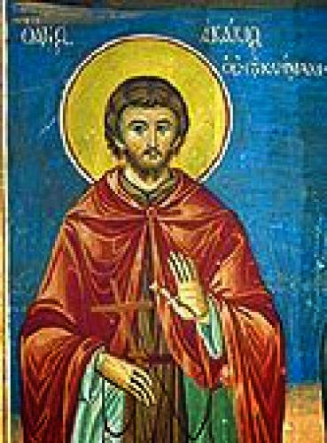 Venerable Acacius Of Sinai Who Is Mentioned In The Ladder