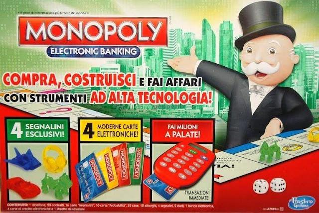 Cờ tỷ phú tiếng Anh Monopoly Electronic Banking là trò chơi trí tuệ thông minh