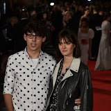 OIC - ENTSIMAGES.COM - Matt Richardson and  Sam Rollinson at the  Pride and Prejudice and Zombies - European film premiere in London 1st February 2016 Photo Mobis Photos/OIC 0203 174 1069