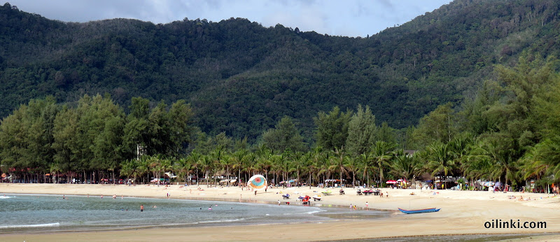 Kamala beach Phuket during low season