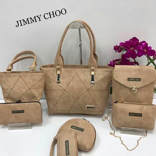 Jimmy Choo Bags 7 Set Combo 8 Designs
