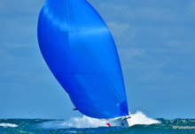 J/70 sailing fast - 20+ knots off Brittany coast- France
