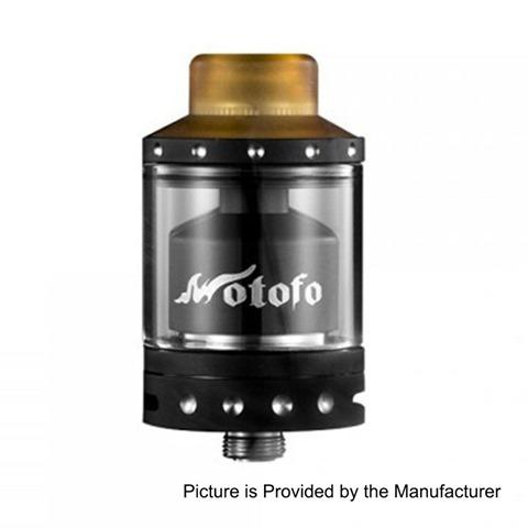 authentic-wotofo-viper-rta-rebuildable-tank-atomizer-black-stainless-steel-3ml-24mm-diameter