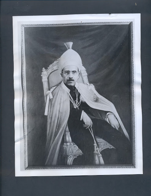 "The last Nizam was described as ""the richest man in the world""; a news photo, 1946"