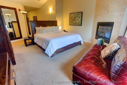 Bedroom in Colibri Hotel Cambria California