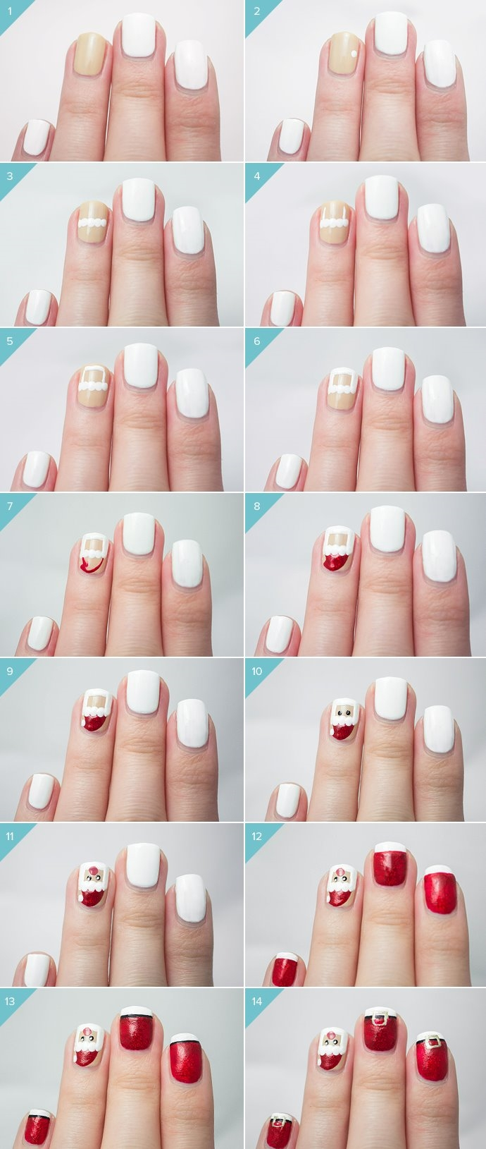 BEST TUTORIAL FOR NAIL ART 2016 | Fashionte
