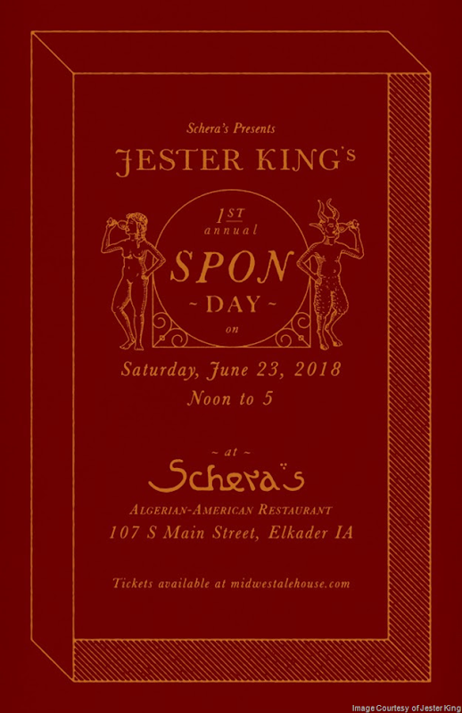 Jester King Announces First Ever SPON Day At Schera's In Elkader, IA 6/23