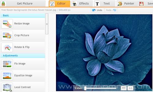 Editar imagenes cno iPiccy