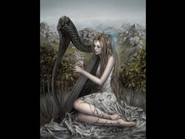 Marvelous Song Of The Harp, Fairies 4