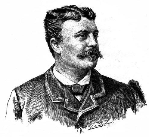 Guy De Maupassant French Author 3, Guy De Maupassant