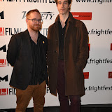 OIC - ENTSIMAGES.COM - Chris Blaine and Ben Blaine at the Film4 Frightfest on Monday   of  Nina Forever  UK Film Premiere at the Vue West End in London on the 31st  August 2015. Photo Mobis Photos/OIC 0203 174 1069