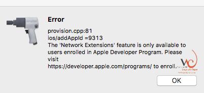 مشكلة provision.cpp في cydia impactor