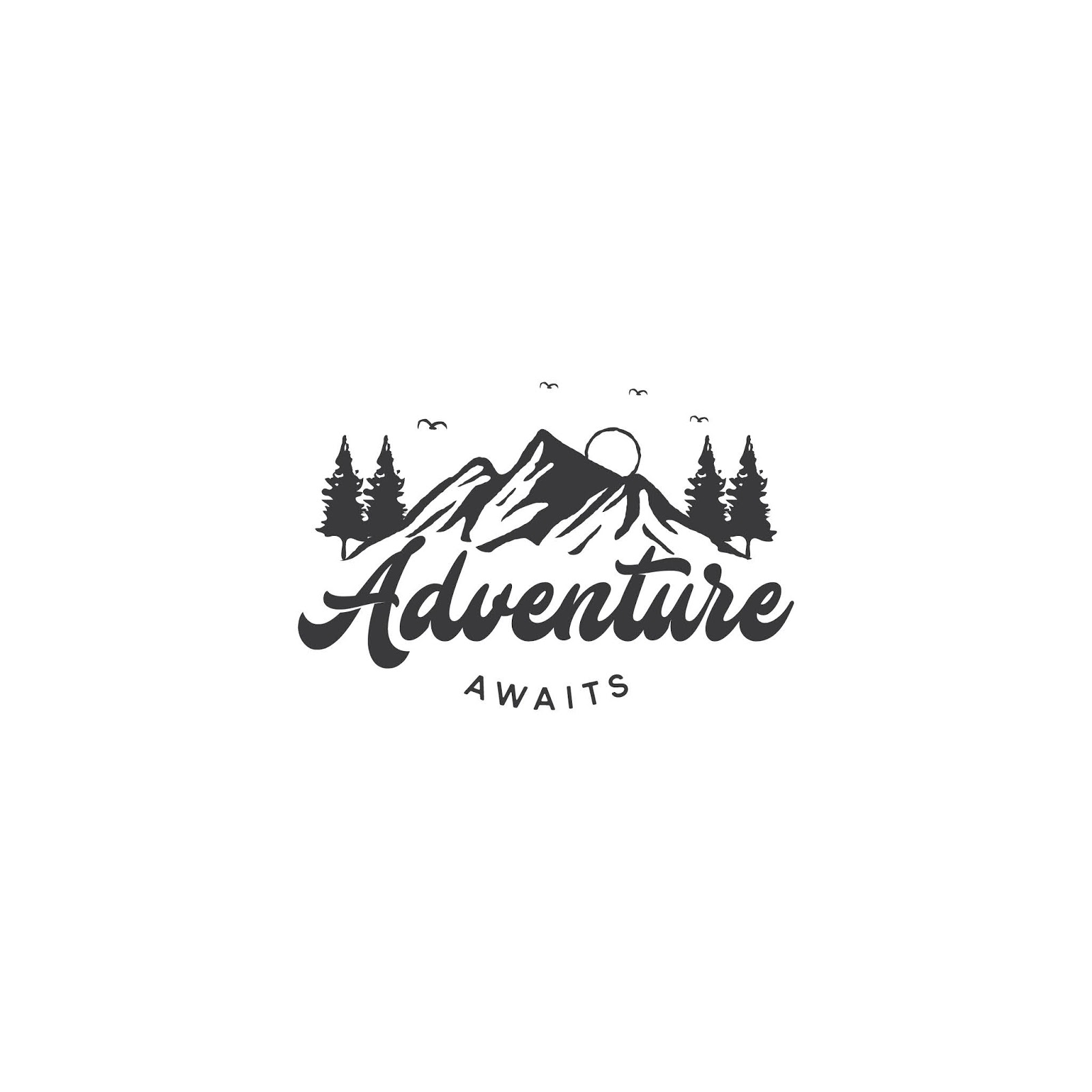 Mountain Logo Adventure Outdoor Logo Design Free Download Vector CDR, AI, EPS and PNG Formats