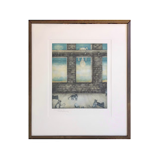 Norma Bessouet Signed Etching