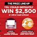 Coca Cola Beat The Buzzer Cash Instant Win Giveaway - 67 Winners Win $100, $250, $500, $750, $1,000 or $2,500. 4 Grand Prize $2,000 Gift Card Prize Packs. Daily Entry, Ends 4/6/21