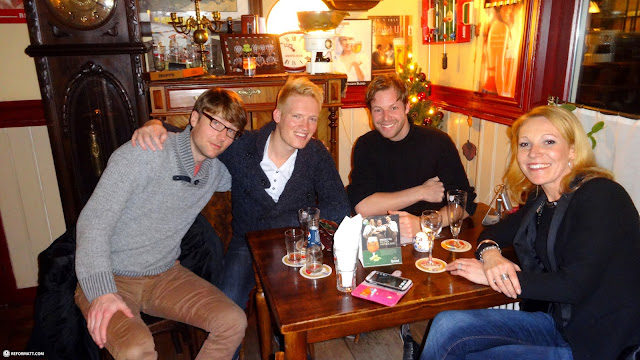 reunion with the CITY crew at cafe Middeloo in Driehuis in IJmuiden, Noord Holland, Netherlands