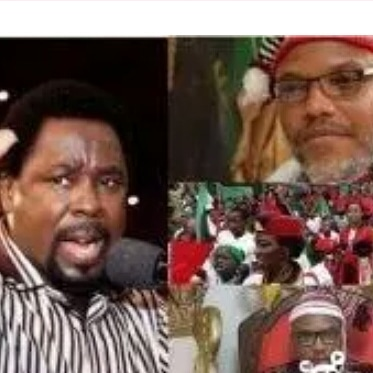 Do you remember Prophet TB Joshua's Prophecy To Nnamdi Kanu