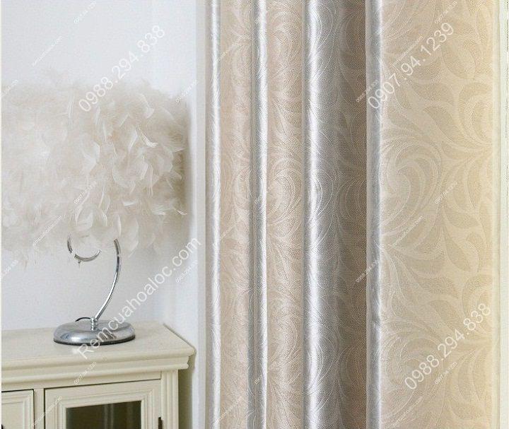 rèm cửa đẹp hà nội một màu kép  12