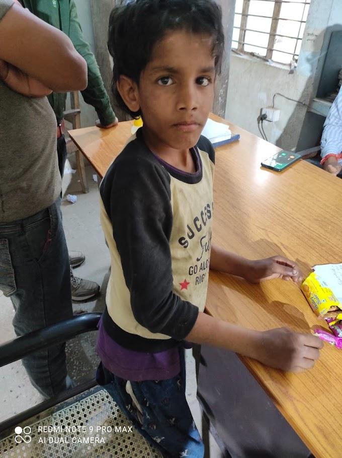 चाइल्डलाइन, सीतामढ़ी के द्वारा भटके बच्चे को बालगृह में रखवाया