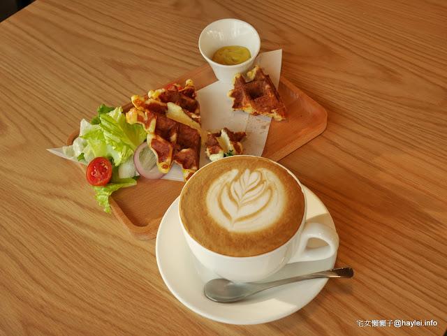 LUCKY5 CAFE  國父紀念館輕食下午茶 來體驗放鬆五感的舒壓享受吧! 民生資訊分享 美式料理 飲食集錦