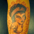 arm - Pin Up Girl Tattoo