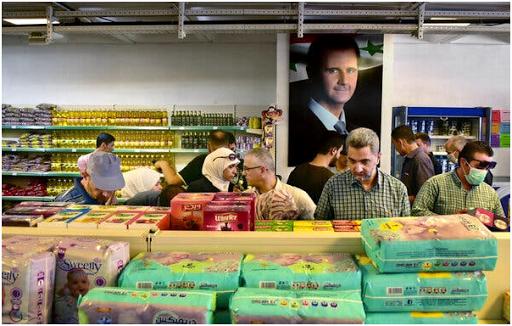 بعد أن انتصر الأسد في الحرب السورية ، غارق في المشاكل الاقتصادية