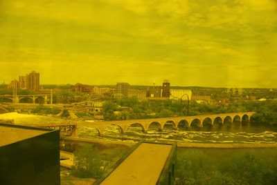 Stone Arch Bridge View from the Guthrie Theater, Minneapolis