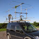 K8GP / Rover - FN00RG (looking SW) - ARRL June VHF 2014