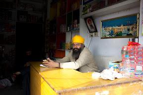A merchandiser in Nankana Sahib