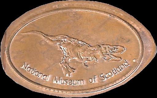 Dinosaur penny