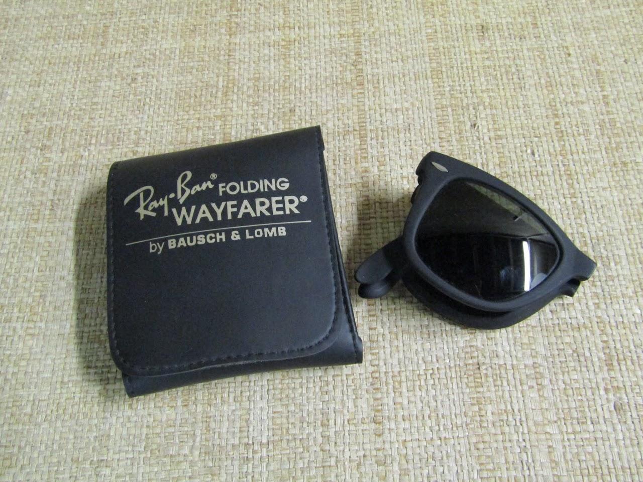 Vintage B&L Ray Ban Folding Wayfarers