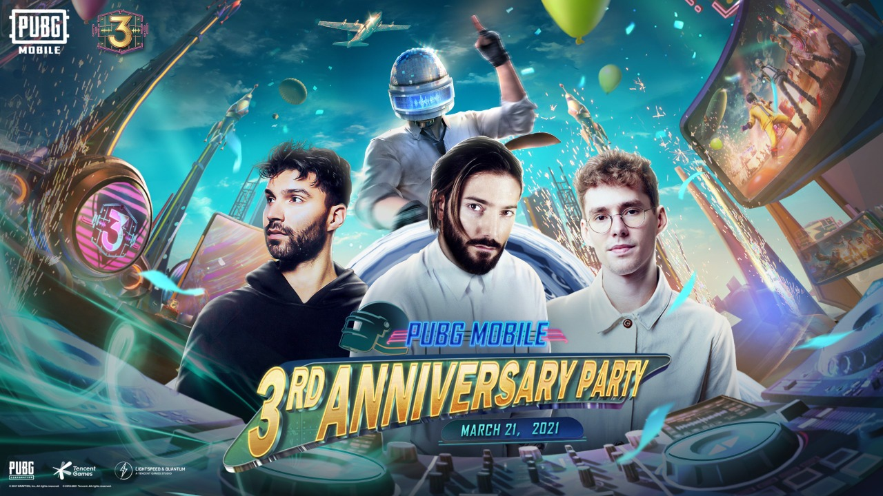 Alesso, Lost Frequencies and R3hab release new Tracks at Pubg Mobile Third Anniversary