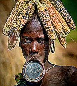Surma People39s Beauty through Body Art  The Eccentricities of