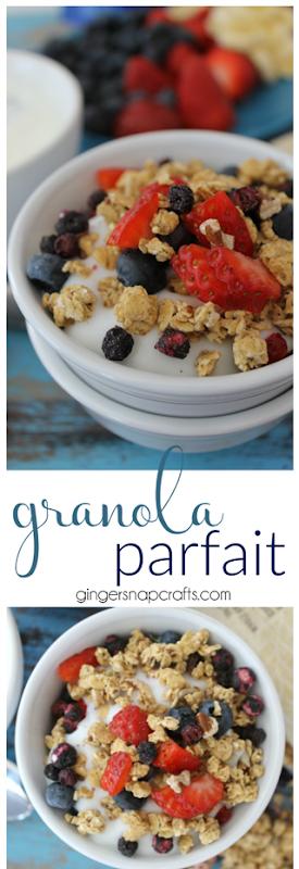 granola parfait recipe