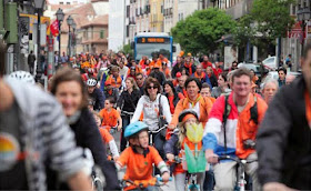 Semana naranja: Recorrido en bici por ser el día del Rey de Holanda