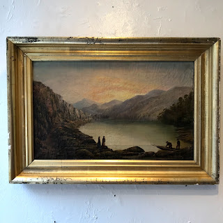 Hudson River School Style Oil Painting