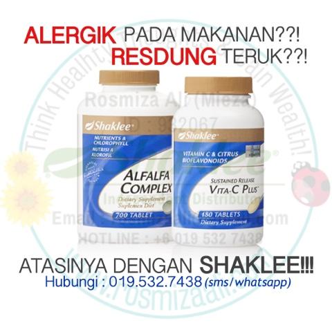 Set Resdung Shaklee, Set Alergik Shaklee