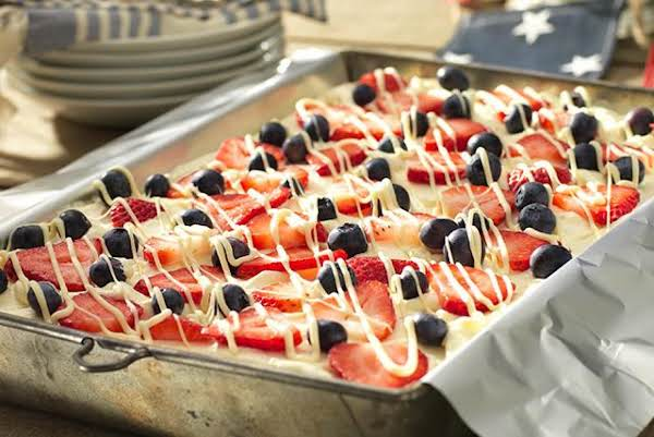 Red, White And Blue Icebox Cake Recipe