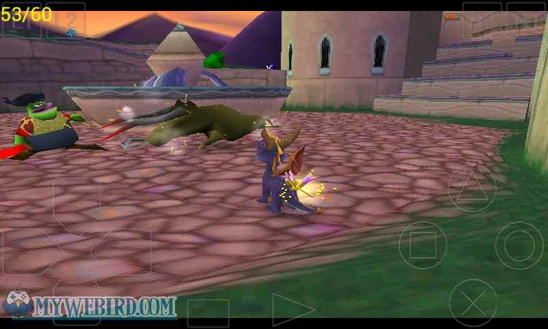 spyro the dragon in game