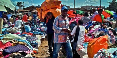 Small traders at Gikomba market. PHOTO   BMS