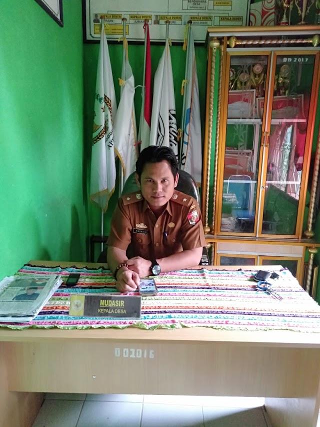 Mudasir kepala Desa prioritaskan pembangunan Desa sesuai usulan masyarakat