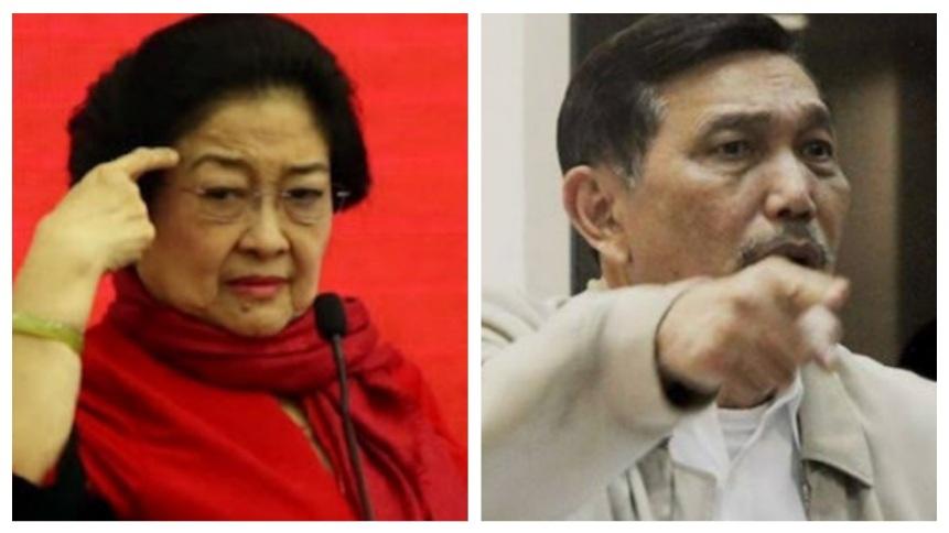 Loyalis Megawati Disemprot Luhut, Tanda Genderang Perang 2024 Nyata