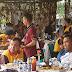 Dandim 0502 Jakarta Utara, Kolonel Tri Handaka SH, dan Kapolres Metro Jakarta Utara, Kombes Pol Budhi Herdi Susianto SH S.Ik M.Si, Resmikan Lapangan Tenis Yon Arhanud VI